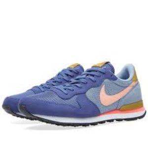 online store 3d11d 80851 Nike Shoes | Internationalist In Blue Legend Sunset Glow | Poshmark